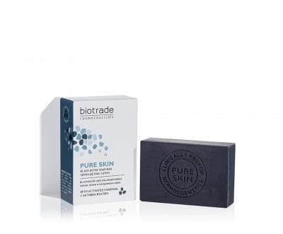 Pure Skin черен детокс сапун