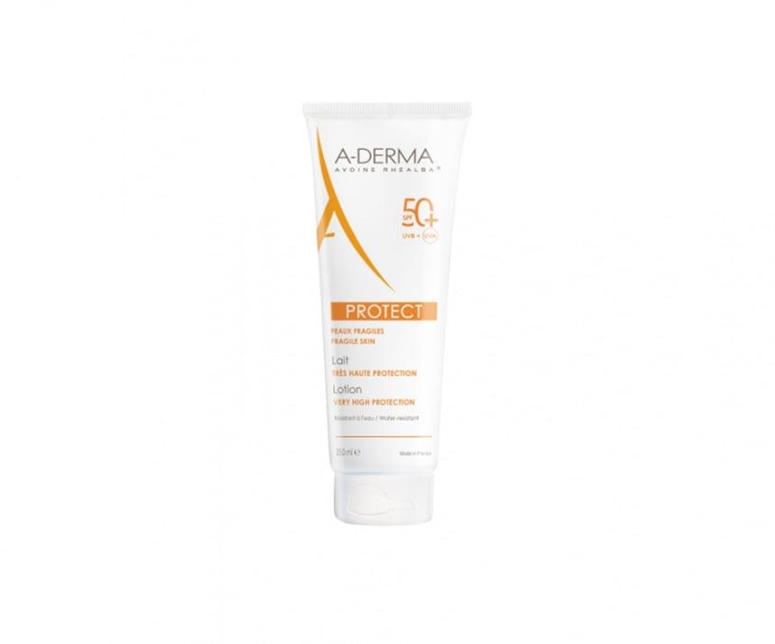 A-DERMA PROTECT Слънцезащитно мляко SPF50+