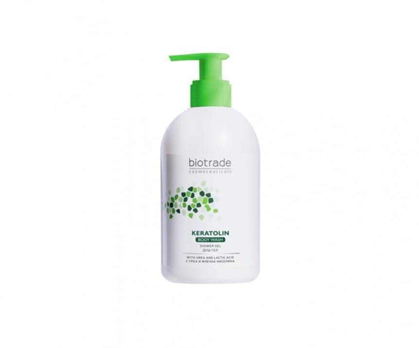 Keratolin Body Wash душ гел за тяло Keratolin Body Wash душ гел за тяло - помпа
