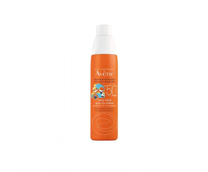 Слънцезащитен спрей за деца SPF 50+